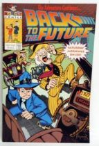Retour vers le Futur - Harvey Comics - Back to the Future (Promotional) The Adventure Continues...