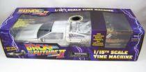 Retour vers le Futur Part.I - Diamond Select Toys Delorean Time Machine 1/15eme 30ème Anniversaire (Effets sonores & Lumineux) v
