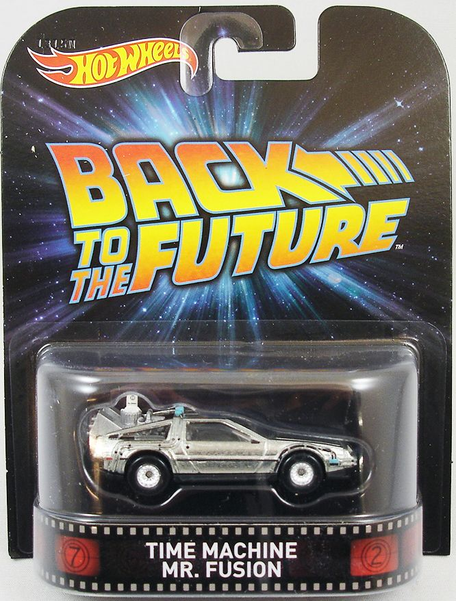 retour vers le futur part i hot wheels mattel delorean time machine mr fusion. Black Bedroom Furniture Sets. Home Design Ideas