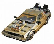 "Retour vers le Futur Part.III - Diamond Select Toys Delorean Time Machine \""Rail Road\"" 1/15eme (Effets sonores & Lumineux)"