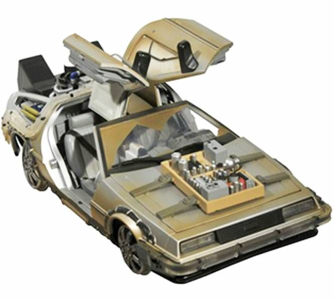 Diamond Select Toys Delorean 98