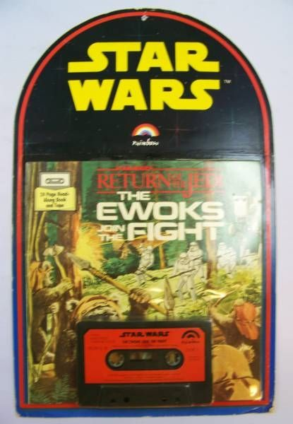 Return of the Jedi - Read-Along Book & Tape - Rainbow / Buena Vista Records1983