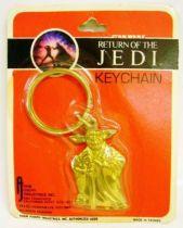 Return of the Jedi 1983 - Adam Joseph Industries Inc. - Yoda Keychain