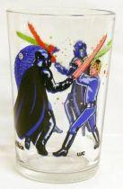 Return of the Jedi 1983 - Amora mustard glass - Darth Vader & Luke