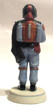 Return of the Jedi 1983 - Boba Fett - Sigma Bisque Porcelain Figurine - 1983