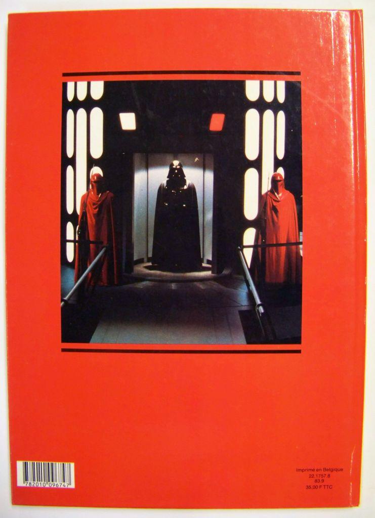 Le Retour du Jedi 1983 - Hachette - Histoire racontée & illustrée 02