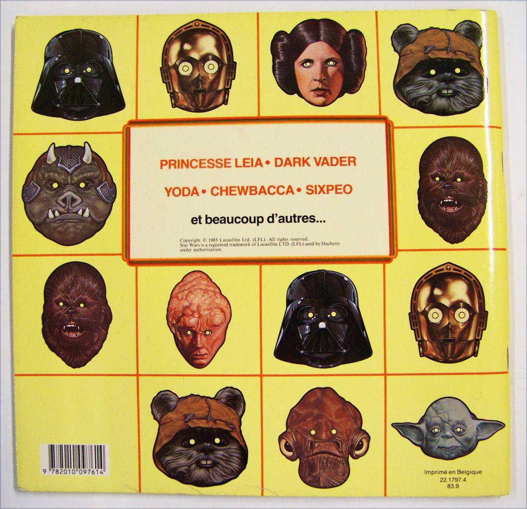 Le Retour du Jedi 1983 - Hachette Jeunesse - Livre des masques 02