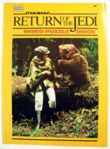 Return of the Jedi 1983 - Happy House (Activity Book) - Word Puzzle Book 01