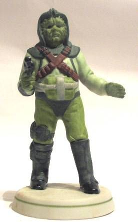 Return of the Jedi 1983 - Klaatu - Sigma Bisque Porcelain Figurine - 1983