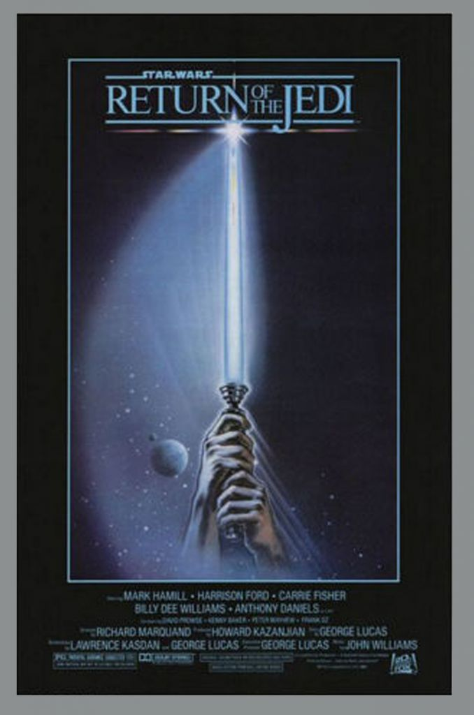 return of the jedi 1983 movie poster style a 24quotx36