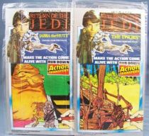 Return of the Jedi 1983 - Rub-Down Transferts - Jabba the Hutt and The Ewoks (Thomas Salter Ltd)