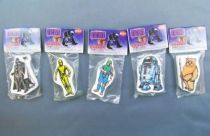 Return of the Jedi 1983 - Set of 5 H.C. Ford Erasers (mint on baggie)