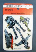Return of the Jedi 1983 - Sparkling Stickers Set