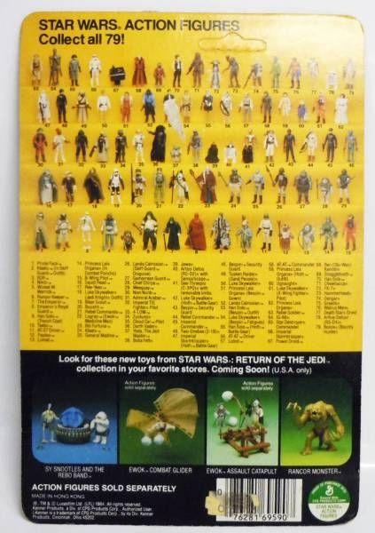 Return of the Jedi 1984 - Kenner - Prune Face