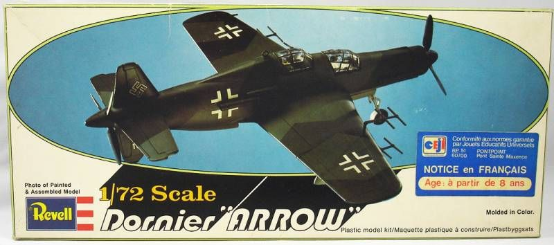 Revell - H-96 Dornier \'\'Arrow\'\' 1/72