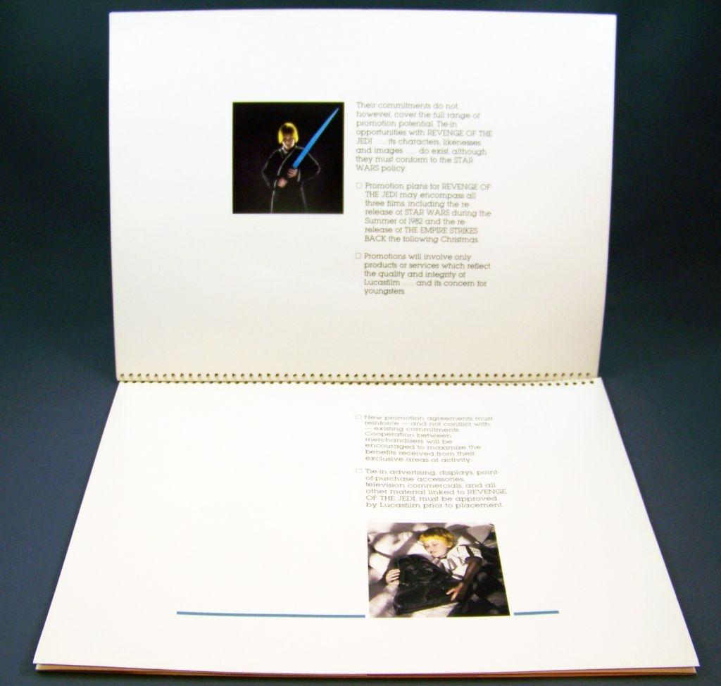 Revenge of the Jedi (1982) - Lucasfilm & 20th Century Fox - Merchandising Press Kit (Dossier Promotionnel) 07