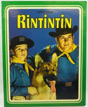 """Rin-Tin-Tin - Album Sagedition 1977 - \""""Le train du diable\"""" & \""""Un Noël pas comme les autres\"""""""