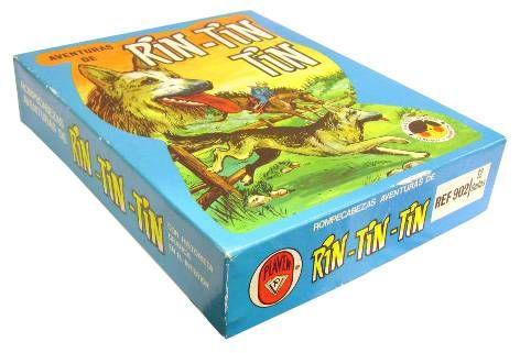 Rin-Tin-Tin - Plaven - Cube Game:  Rin-Tin-Tin\'s adventures