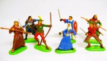 Robin Hood - Britains - Set of 7 figures