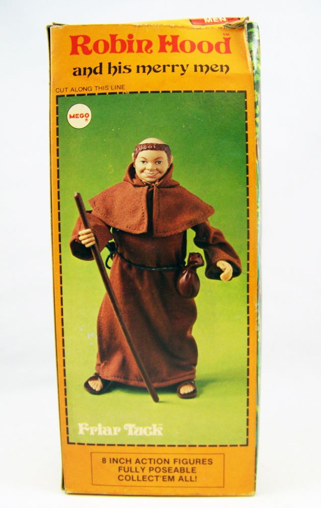 Robin Hood - Mego - Friar Tuck (mint in box)