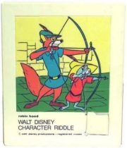 Robin Hood - Merchandising - Large Riddle Game