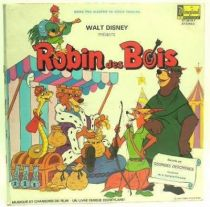 Robin Hood - Merchandising - Record book LP music songs and story from the movie