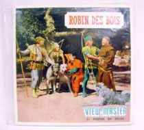 Robin Hood - View-Master - 21x 3-D pictures set