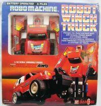 Robo Machine - Bandai - Robot Winch Truck - Toyota Hilux 4WD