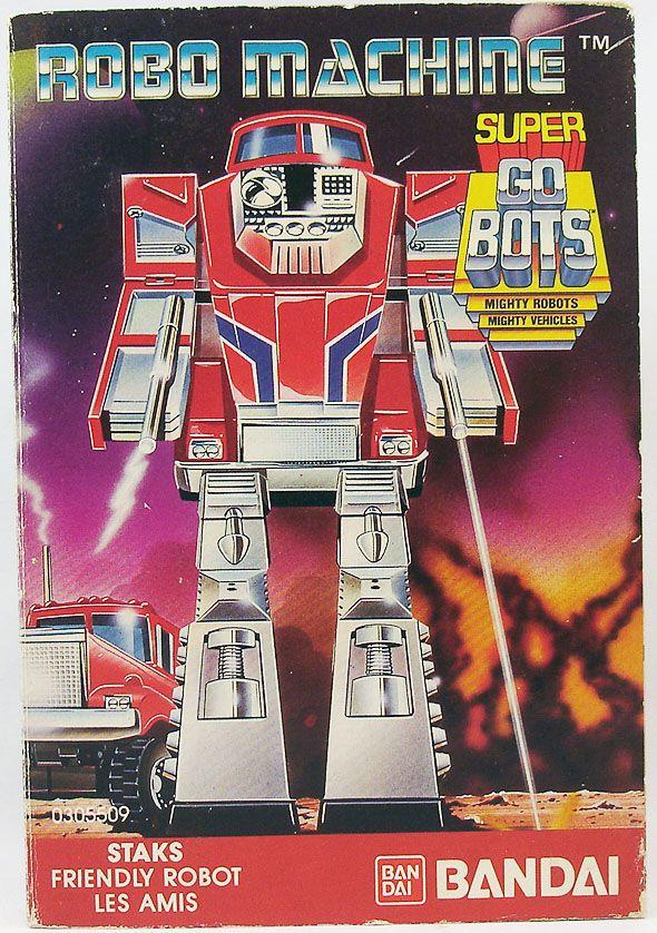 Robo-Machine - Bandai - Super-Gobot Staks