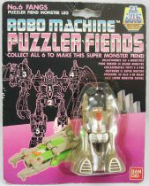 Robo Machine Gobots - Bandai - Puzzler Fiends - Fangs