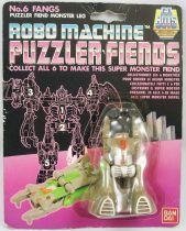 Robo Machine Gobots - Bandai - Puzzler Fiends - Fangs