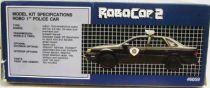 Robocop 2 - AMT ERTL - Robo 1 Police Car 1:25
