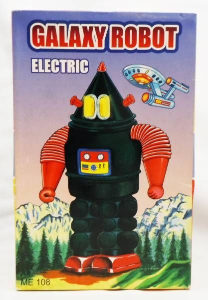 Robot - Battery Operated Tin Robot - Galaxy Robot green vers.(SUPT)