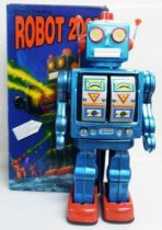 Robot - Battery Operated Tin Robot - Robot 2008 (Schylling)