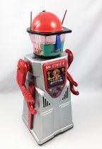 Robot - Battery Operated Tin Robot - Robot Marcheur à Pile en Tôle - Advanced Robotman Chief Smoky (Ha Ha Toys)