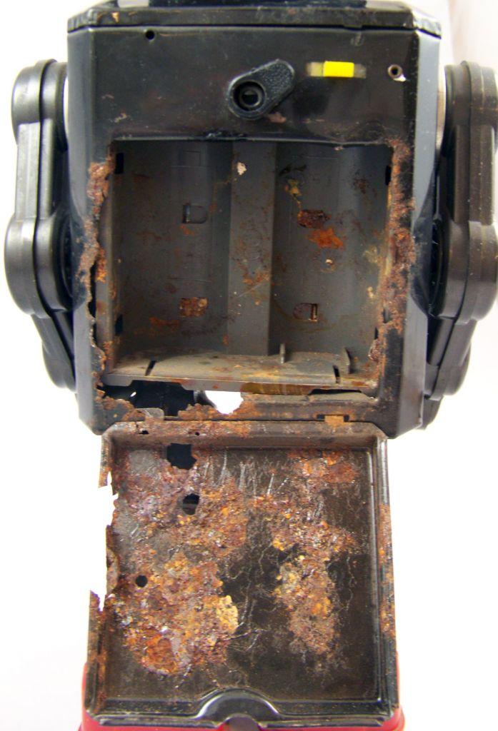 Robot - Robot Marcheur à Pile en Tôle - Space Explorer - Horikawa (S.H.) 07