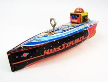Robot - Mechanical Boat Tin Toy - Mars Explorer (Schylling Toys)
