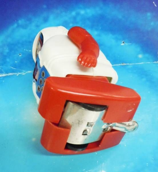 Robot - Mechanical Walking Plastic Robot - Astro Captain (Daiya - Japan 1967)