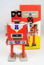 Robot - Robot Marcheur Mécanique en Tôle - Laser Robot (St.John Tin Toy) 01
