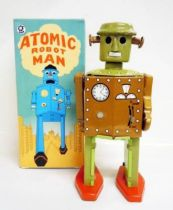 Robot - Mechanical Walking Tin Robot - Atomic Robot Man (Q.S.H.)