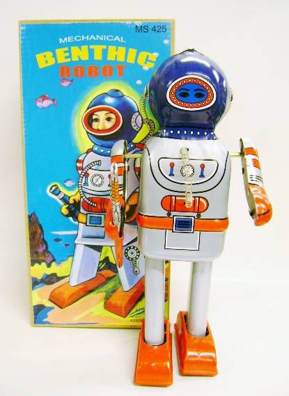 Robot - Mechanical Walking Tin Robot - Benthic Robot