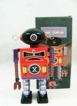 Robot - Robot Marcheur Mécanique en Tôle - Dark Templar (St.John Tin Toy) 01