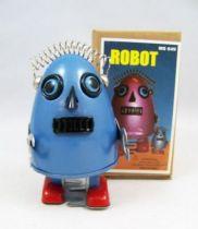 Robot - Robot Marcheur Mécanique en Tôle - Robot Oeuf (Ha Ha Toy) 01