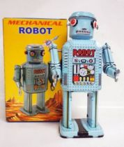 Robot - Mechanical Walking Tin Robot - Mechanical Robot (Q.S.H.)