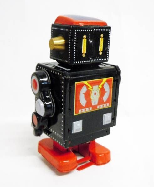Robot - Mechanical Walking Tin Robot - Mechanical Robot Black (N.R.)