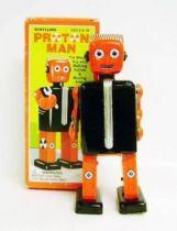 Robot - Mechanical Walking Tin Robot - Proton Man (Schylling Toys)