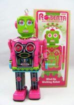 Robot - Robot Marcheur Mécanique en Tôle - Roberta (Schylling) 01