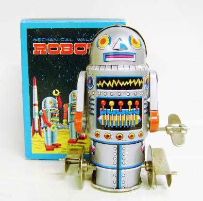 Robot - Mechanical Walking Tin Robot - Robot-7