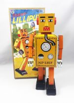 Robot - Mechanical Walking Tin Robot - Robot Lilliput (Q.S.H.)
