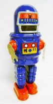 Robot - Mechanical Walking Tin Robot - Roby Robot (sparkling)
